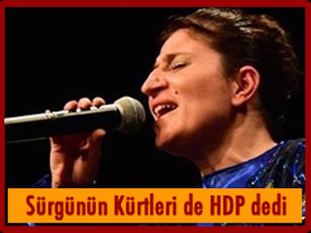 Photo of Sürgünün Kürtlerinin oyları da HDP'ye