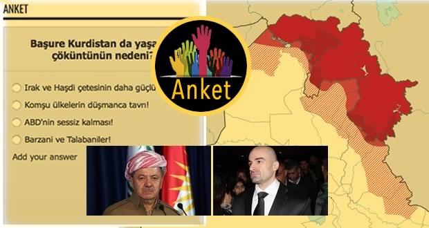 Photo of Anket: Başure Kurdistan da yaşanan çöküntünün nedeni nedir?