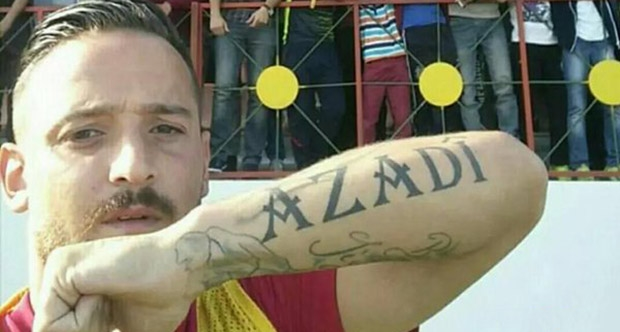 Photo of Deniz Naki: Barış demek teröristlikse en büyük teröristim