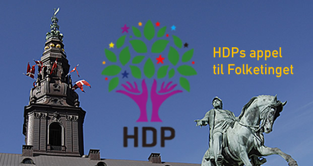 Photo of HDP'den Danimarka parlementosuna mektup!