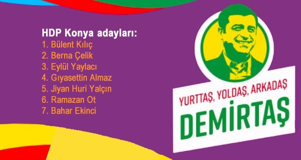 Photo of HDP milletvekili aday listesinin tamamı