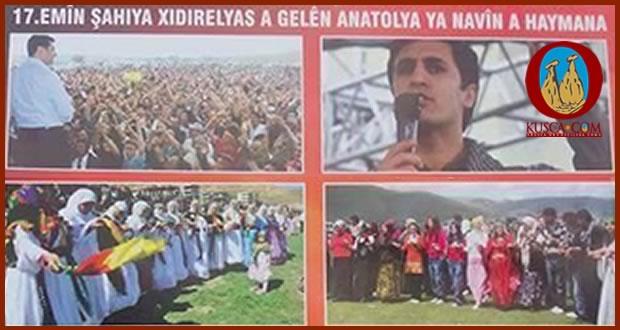 Photo of Orta Anadolu Kürtleri geleneksel Hıdırellez şenlik kutlamalarına devam etmekteler.
