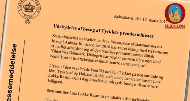 Photo of Danimarka'dan Binali Yıldırım'a #Hayır teşekkürler