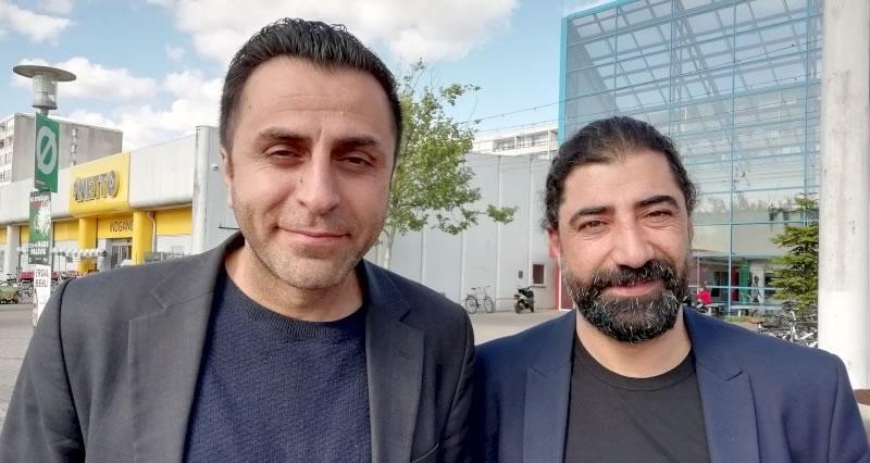 Photo of Serdal ile İbrahim emin adımlarla meclise doğru