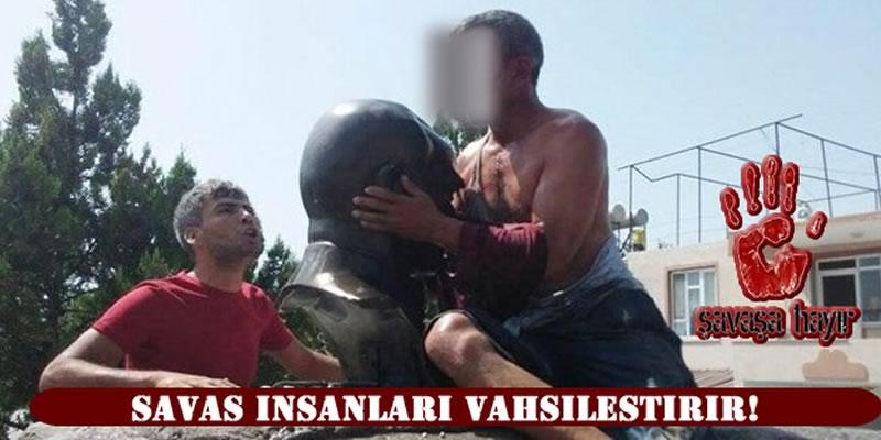 Photo of Savaş insanları vahşileştirir!